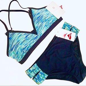 Athleta Paddleout Space Dye Bikini Med